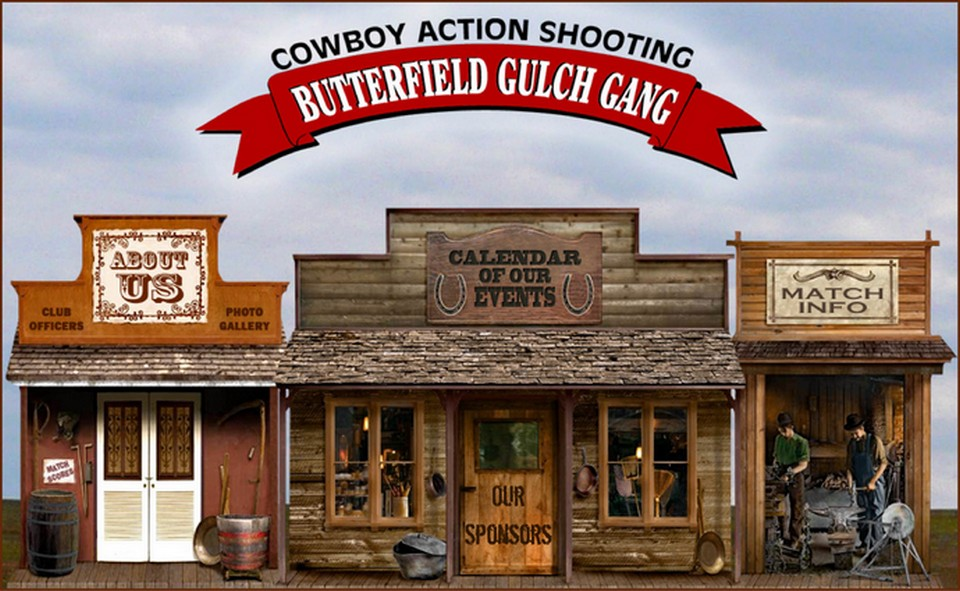 Butterfield Gulch Gang of Kansas - Cowboy Action Shooting main menu